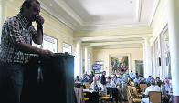 Desde Maroñas, remató Lote 21, administró Scotiabank. Foto: Ariel Colmegna