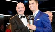 Cristiano Ronaldo: simplemente el mejor de 2016. Foto: EFE