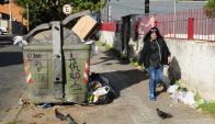 Residuos: el paro de Adeom y el feriado afectarán la limpieza. Foto: archivo El País