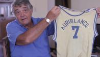 Enrique Yannuzzi participa de la campaña de socios de Auriblanco.