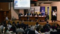 El encuentro fue en la Facultad de Ciencias Económicas de la Udelar. Foto: F. Ponzetto