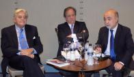 Luis Alberto Lacalle, Sergio Abreu, Alfonso Lessa.