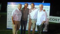Jorge Seré, Pablo Haberer, Nick Stanham, Juan Seré.