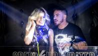 Fede Bal y Laurita Fernández en Jackson Bar. Foto: Joaquin Santana