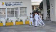 Puerta de entrada al Hospital Pereira Rossell. Foto: Archivo El País