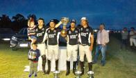 Yellow Rose se quedó con la copa de campeón del Valentín Martínez en Carrasco Polo.