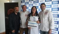 Diego González, Laurent Lainé, Claudia Viera, Nilson Viazzo.