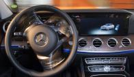 Mercedes E200 equipados con sensores Bosch. Foto: AFP