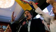 Guillermo Lasso, candidato opositor ecuatoriano. Foto: AFP.