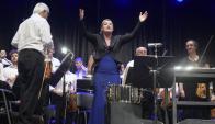 Ligia Amadio dirigió a la Orquesta Filarmónica de Montevideo. Foto: F. Ponzetto