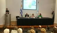 Presentación de Observatorio Ambiental. Foto: Twitter @Mvotma_Uruguay