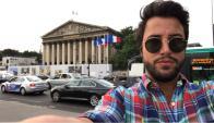 Fernando Cristino en París
