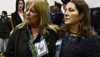 Desazón en familiares de víctimas tras escuchar el fallo en Roma. Foto: AFP