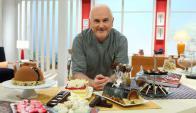 Osvaldo Gross: Ingeniero químico de profesión, ha volcado sus conocimientos a la pastelería. Foto: El País