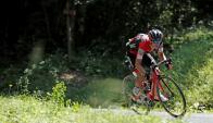 Richie Porte en el Tour de France. Foto: Reuters
