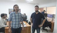 Update. Hernández y Galindo preparan una nueva versión de DreamSnap. (Foto: Francisco Flores)
