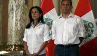 Nadine Heredia y Ollanta Humala. Foto: Reuters
