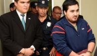 Stiben Patrón sale de la cárcel rumbo a su casa. Foto: ABC Color.