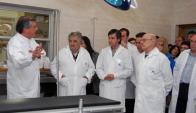 El presidente Mujica autorizó el IMAE cardiológico hace más de tres años. Foto: Presidencia