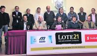 Desde Maroñas, remata Lote 21, administra el Scotiabank. Foto: archivo El País