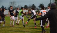 Incidentes entre Central de San José y Wanderers de Artigas. Foto: Sanjoseahora.com.uy
