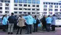 Reclusa agredió a guardias y se generó una movilización. Foto: Sindicato Penitenciario