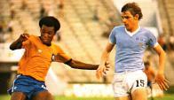 Uruguay  ante Brasil en el año 1977