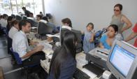 Más de 1.5 millones de afiliados al Fonasa. Foto: Archivo El País.