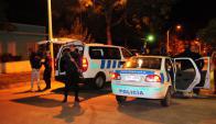 Se llevaron dinero de caja registradora y dispararon contra comerciante. Foto: D. Borrelli