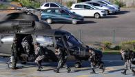 Militares en Vitória luego de una semana de caos por una huelga policial. Foto: Reuters