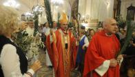 La festividad es considerada el inicio de Semana Santa. Foto: F. Flores