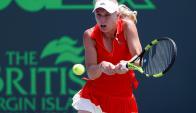Finalista. Caroline Wozniacki ganó la última final del Miami Open. (Foto: Reuters)