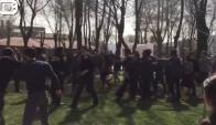 Ataque en medio de un acto en Turquía. Foto: captura de pantalla