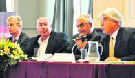 Correge (Scotiabank), Rodríguez (ARS), Bascou (intendente) y Aguerre (ministro) . Foto: MGAP