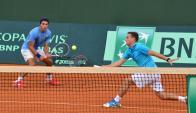 Maresca y Xiviller ganaron nuevamente. Foto Copa Davis