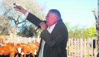 En la Rural de Dolores, el martillero Pagés PIneda condujo los negocios. Foto: archivo