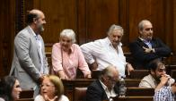 Topolansky. La senadora había planteado reparos a la paridad. Foto: Marcelo Bonjour.