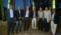 Guillermo Scheck, Milton Wynants, Fabián Coito, Washington Beltrán, Emilio Vidal, Diego Beltrán, Martín Laventure.