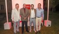 Ernesto Elenter, Gonzalo Casaravilla, Fernando Schaich, Diego Garfinkel.