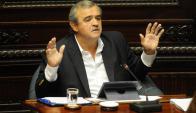 Jorge Larrañaga en el Senado. Foto: Francisco Flores
