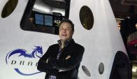 Elon Musk. En este rubro tiene como rival a Blue Origin, compañía de Jeff Bezos. Foto: AFP.