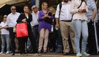 Paradas: pasajero podrá informarse antes de subir al ómnibus qué tan lleno viene. Foto: G. Pérez