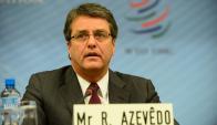 Roberto Azevedo logró un nuevo mandato en la OMC. Foto. Wikimedia Commons