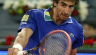 Salteño. Pablo Cuevas juega esta mañana, a las 11 horas de Uruguay, en Roland Garros. Foto: EFE