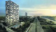 Se destaca la construcción de modernos edificios. Foto: Weiss Mora Weiss