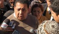 Luis D'Elía. Foto: La Nación.