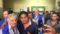 José Mujica elecciones ecuatorianas. Foto: Twitter @unasur