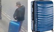 Nueva Pista Salman Abedi con una valija azúl. Foto: Reuters