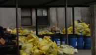 Residuo: ASSE había licitado servicio de recolección y tratamiento. Foto: F. Flores