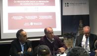 Murro disertó en un panel sobre prevención de conflictos laborales. Foto: El País